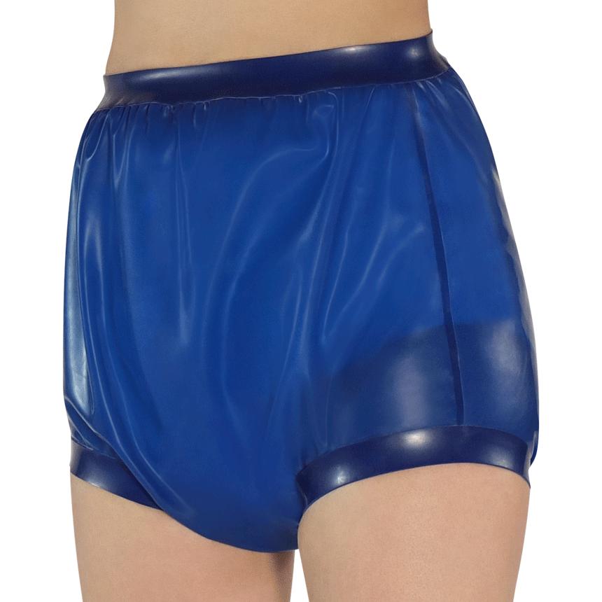 Gummihose mit breiten Beinabschlüssen - Windelhosen für